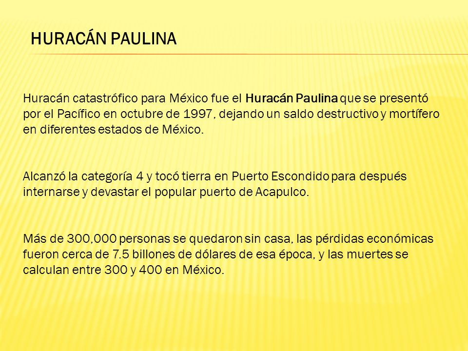 HURACÁN PAULINA