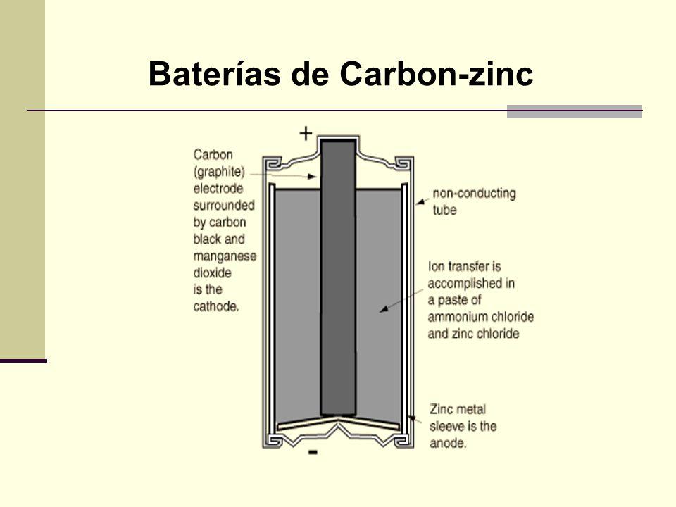 Baterías de Carbon-zinc