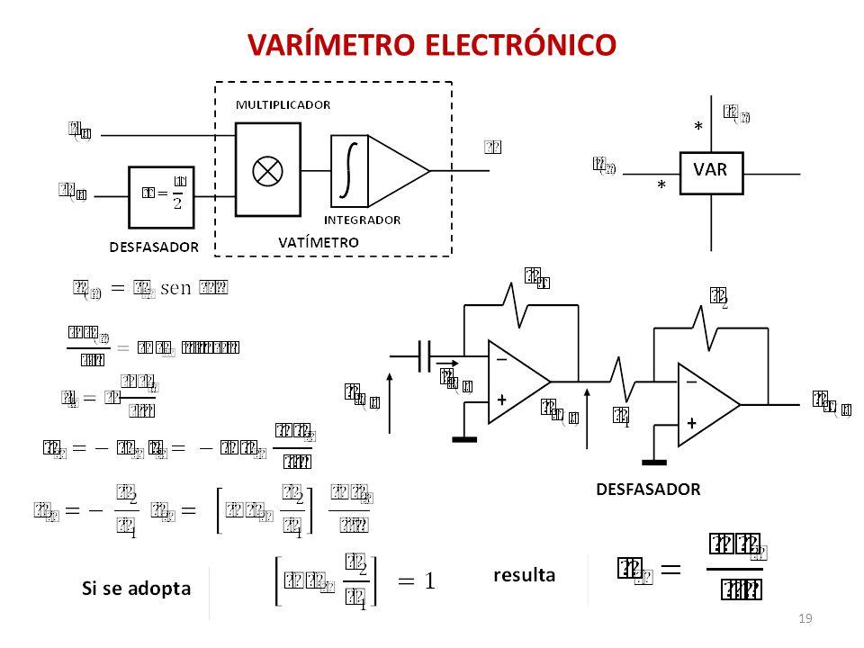 VARÍMETRO ELECTRÓNICO