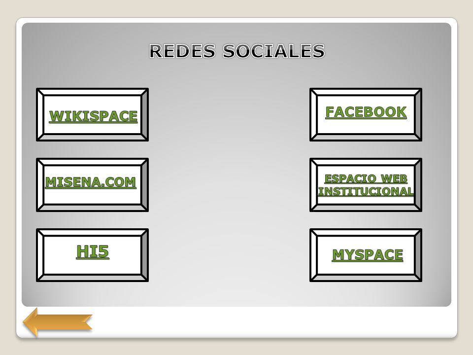 ESPACIO WEB INSTITUCIONAL