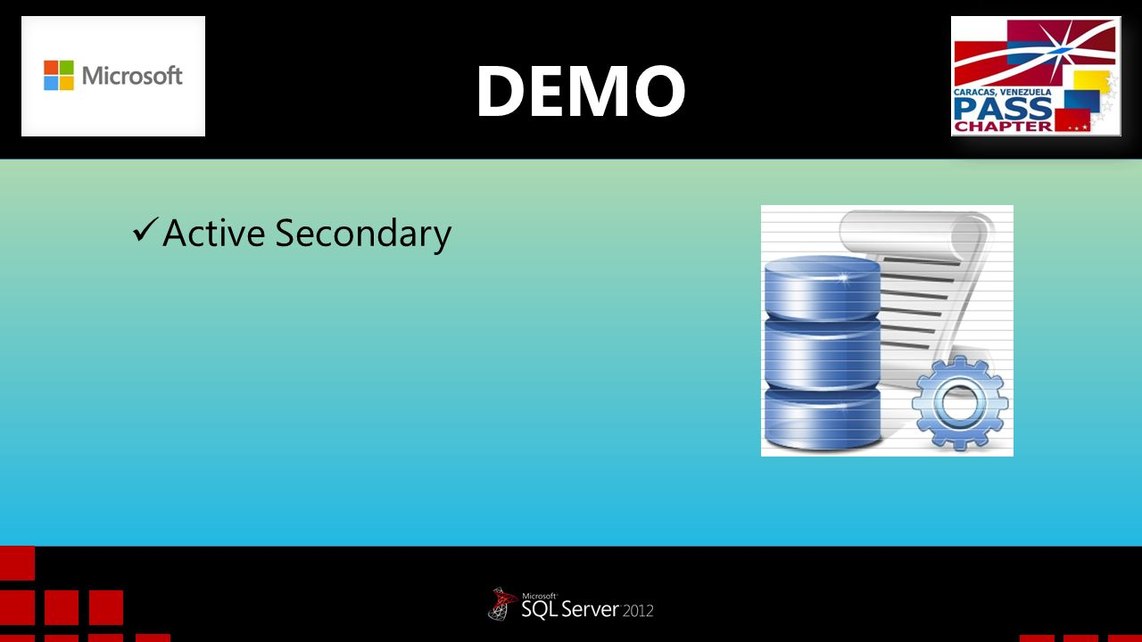 DEMO Active Secondary.