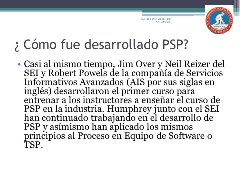 ¿ Cómo fue desarrollado PSP