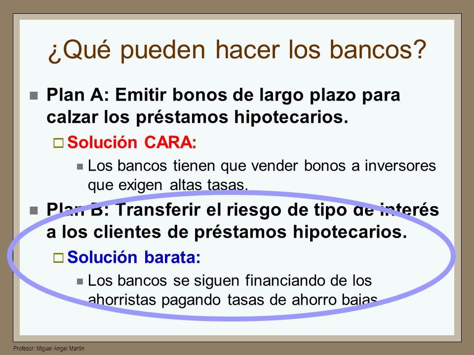 ¿Qué pueden hacer los bancos
