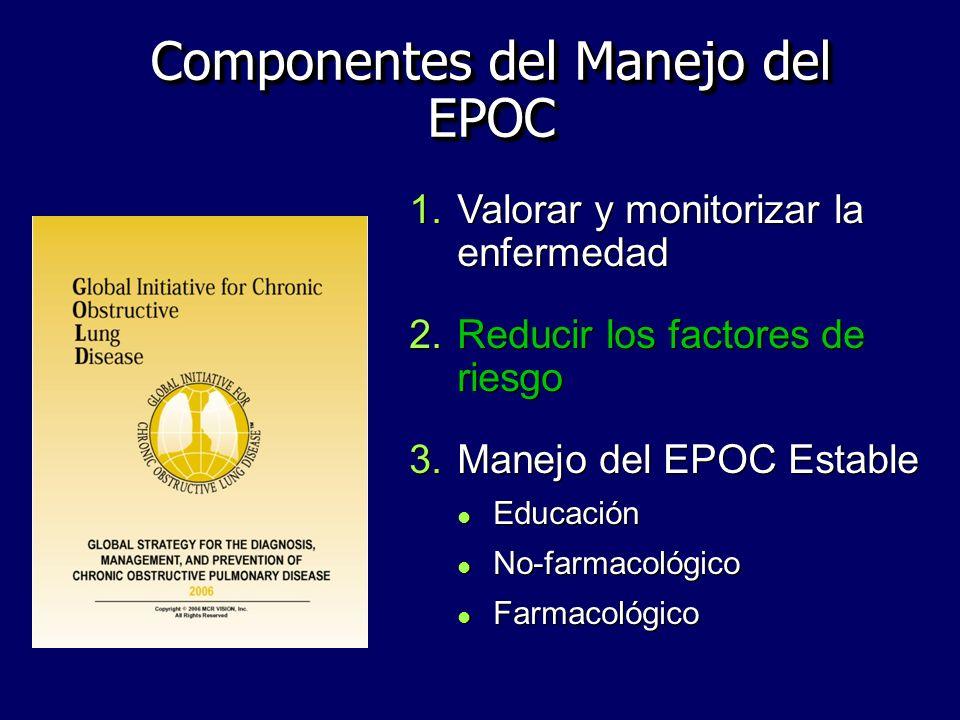 Componentes del Manejo del EPOC