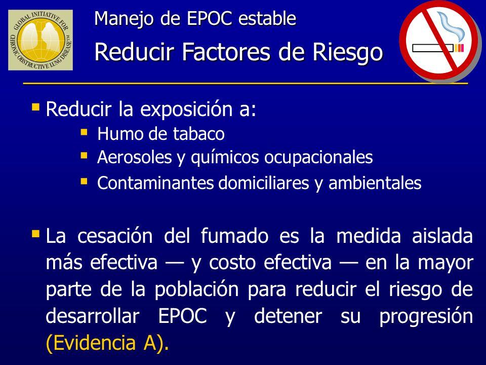Reducir Factores de Riesgo
