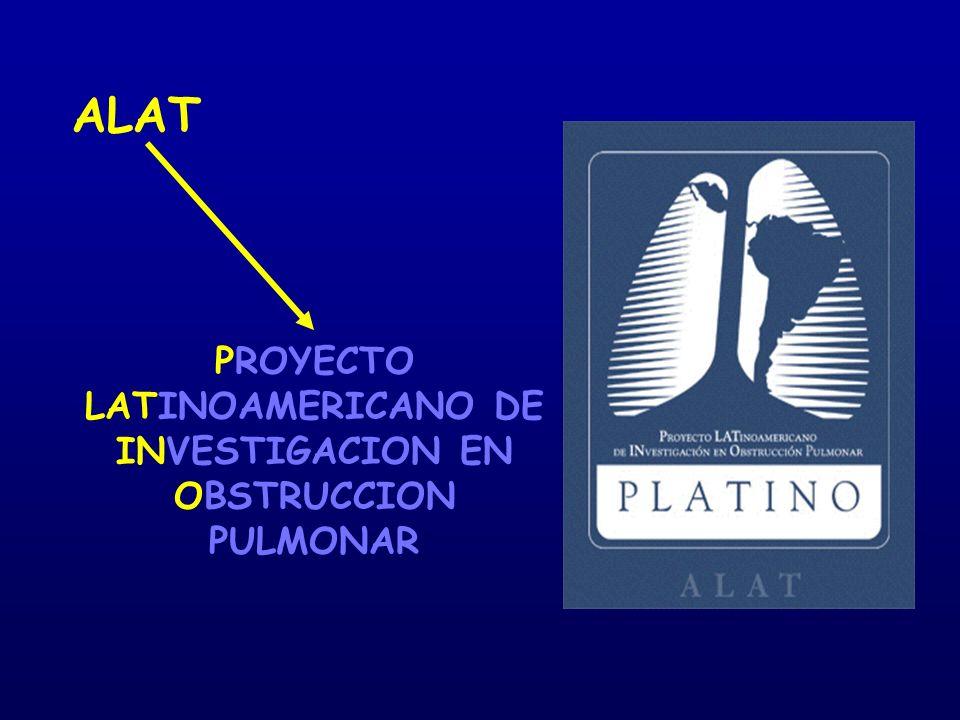 PROYECTO LATINOAMERICANO DE INVESTIGACION EN OBSTRUCCION PULMONAR