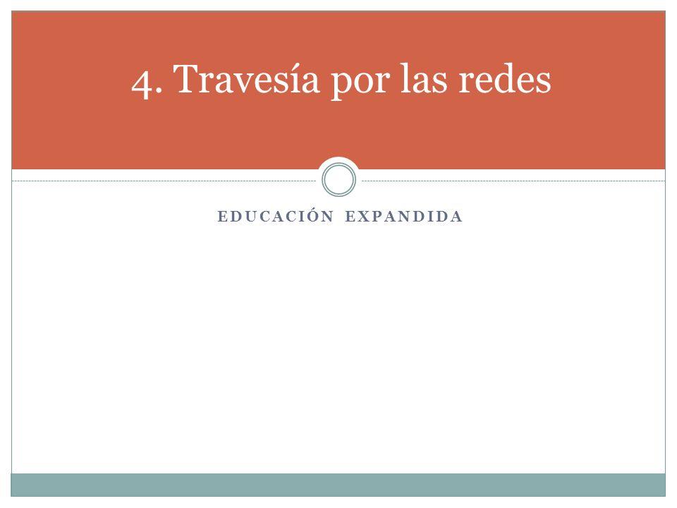 4. Travesía por las redes Educación expandida