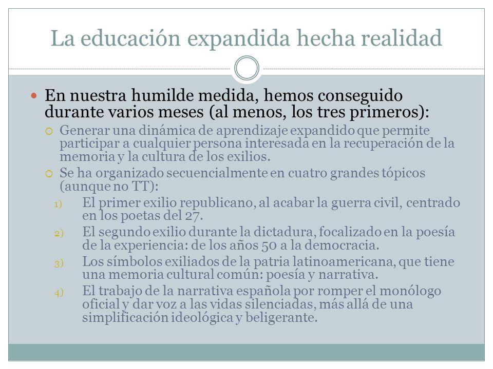 La educación expandida hecha realidad