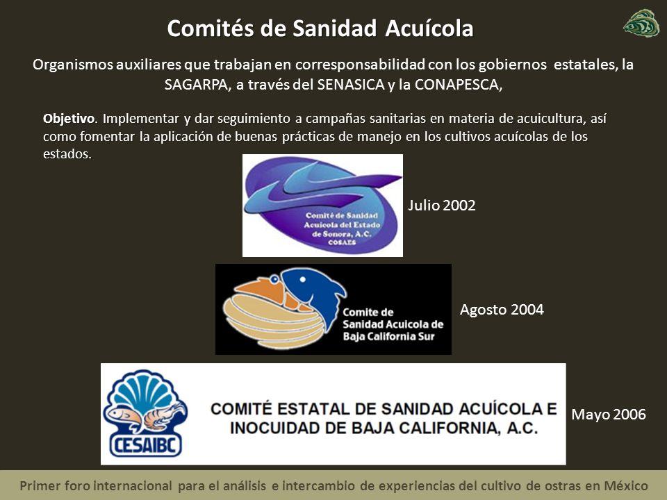 Comités de Sanidad Acuícola
