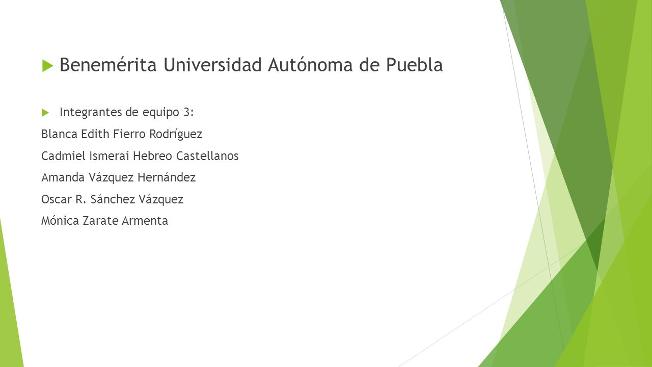 Benemérita Universidad Autónoma de Puebla
