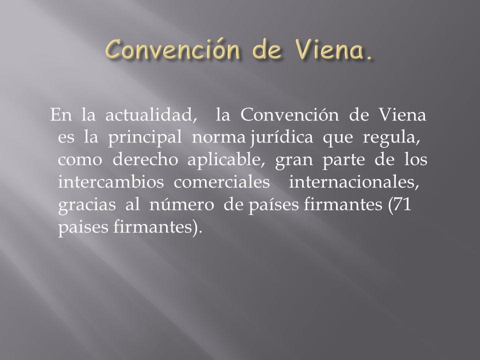 Convención de Viena.