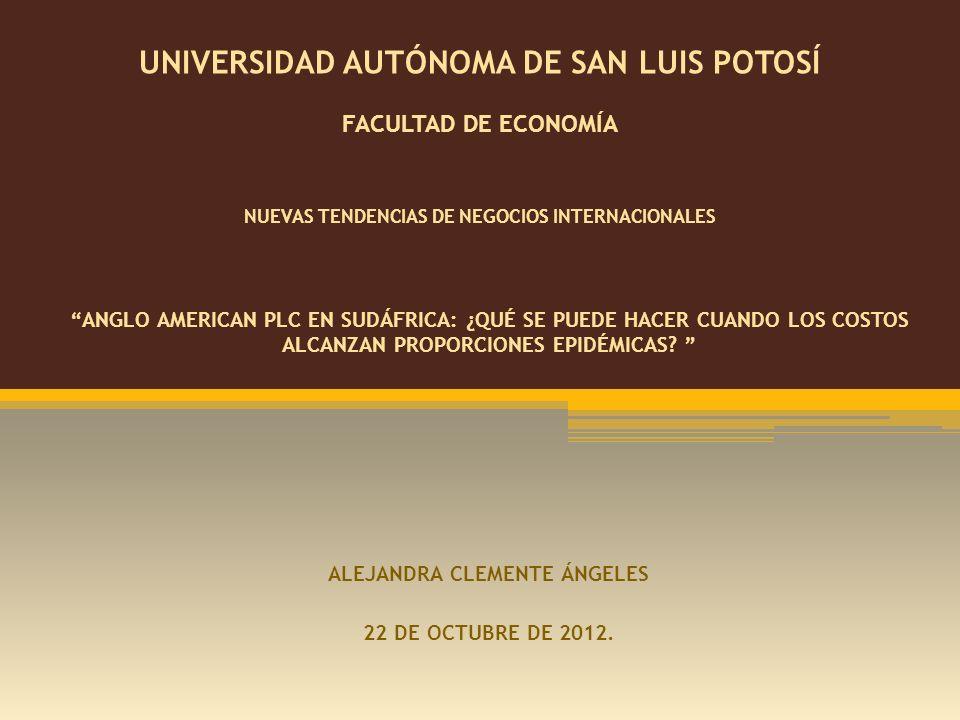 ALEJANDRA CLEMENTE ÁNGELES 22 DE OCTUBRE DE 2012.