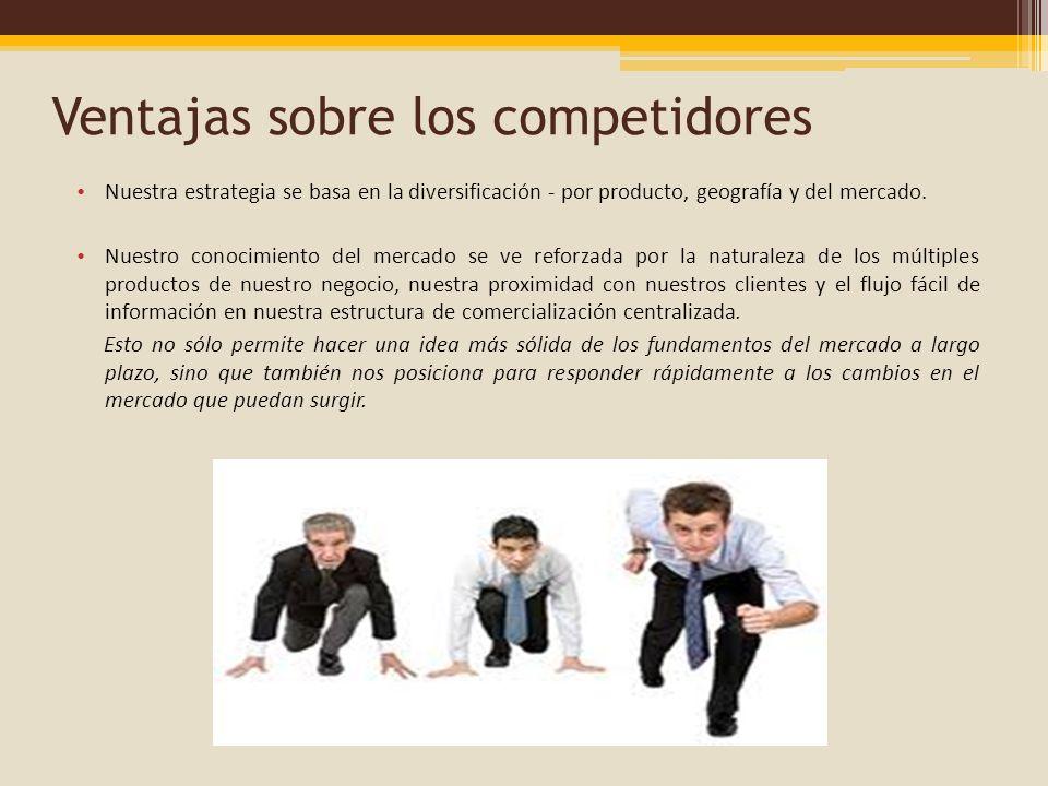 Ventajas sobre los competidores