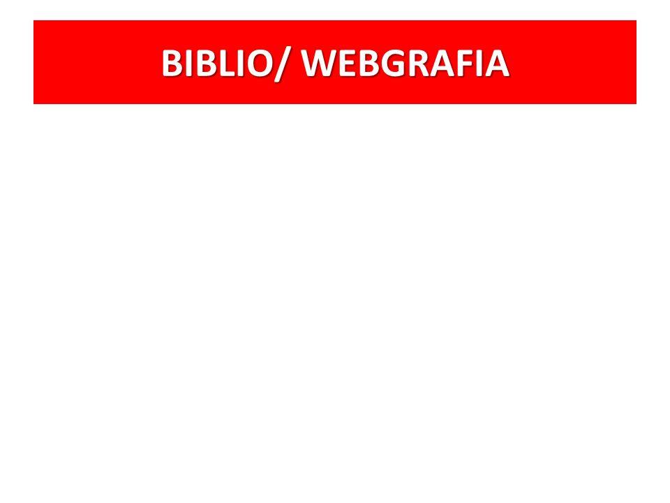 BIBLIO/ WEBGRAFIA