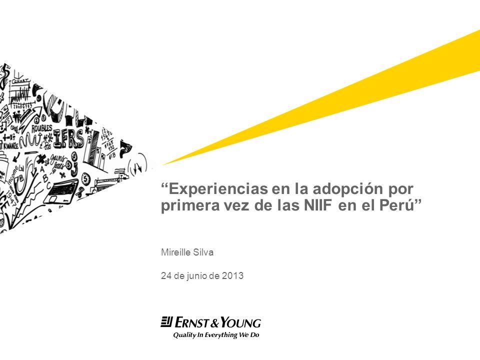 Experiencias en la adopción por primera vez de las NIIF en el Perú