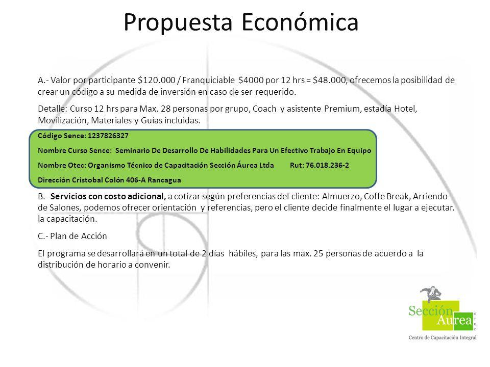 Propuesta Económica