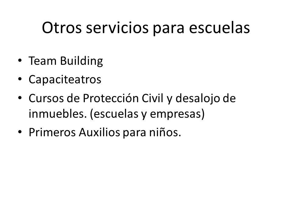 Otros servicios para escuelas