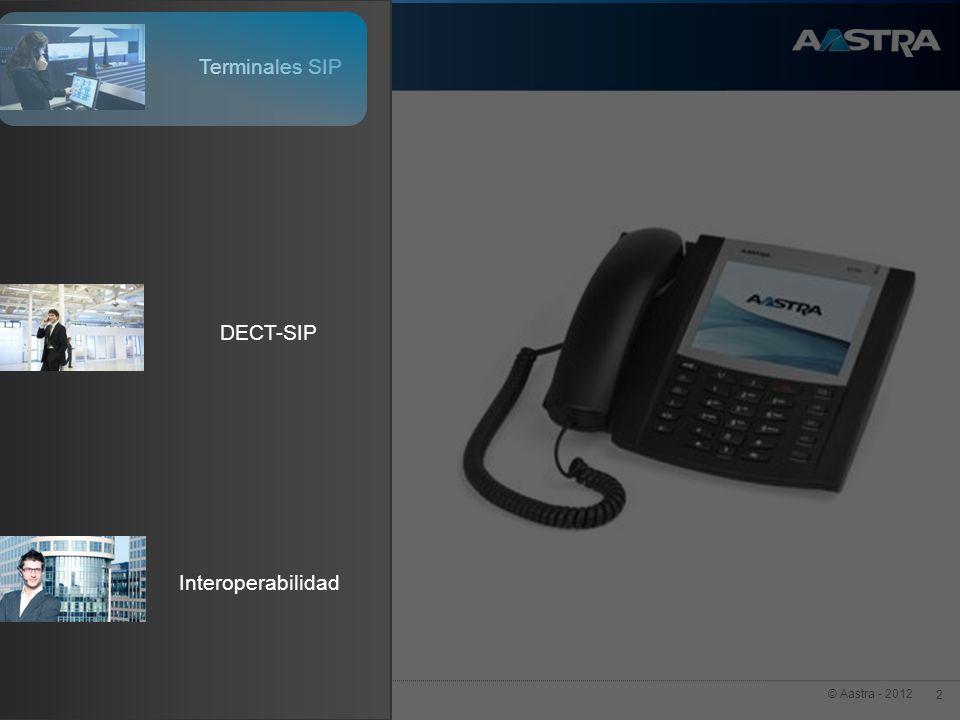 Terminales SIP Interoperabilidad DECT-SIP