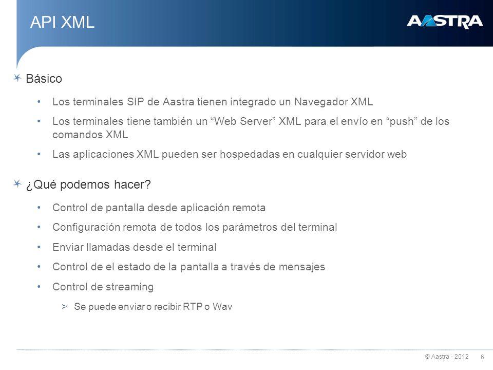 API XML Básico ¿Qué podemos hacer