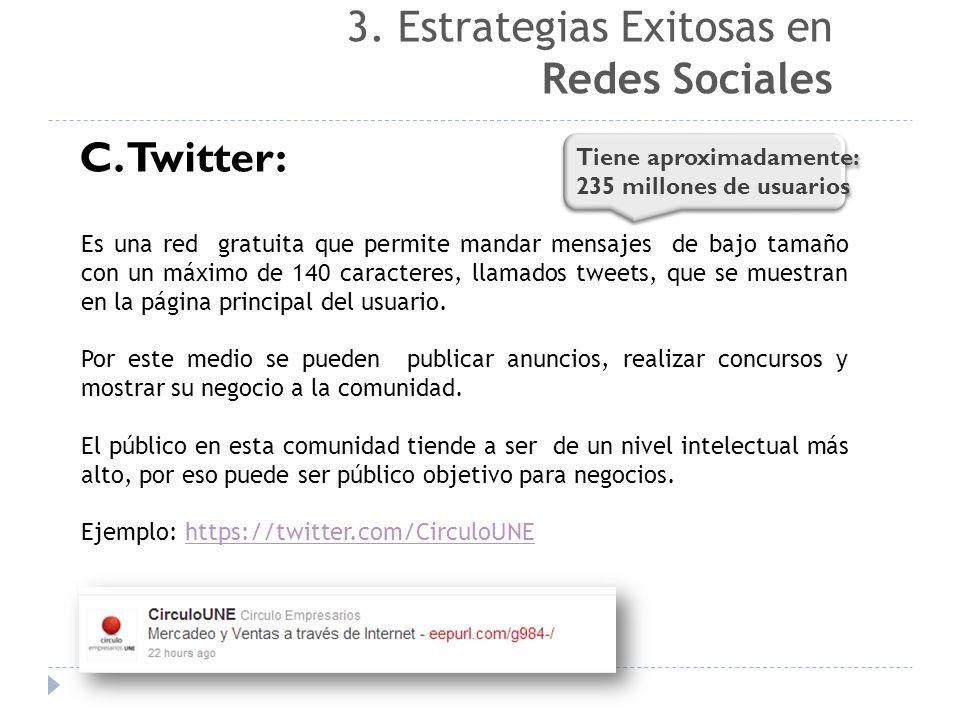 3. Estrategias Exitosas en Redes Sociales
