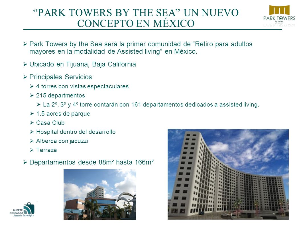 PARK TOWERS BY THE SEA UN NUEVO CONCEPTO EN MÉXICO