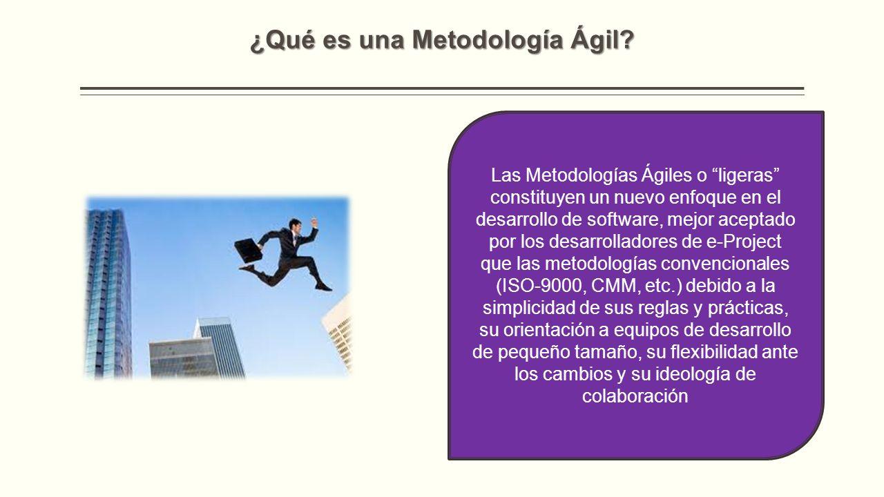 ¿Qué es una Metodología Ágil