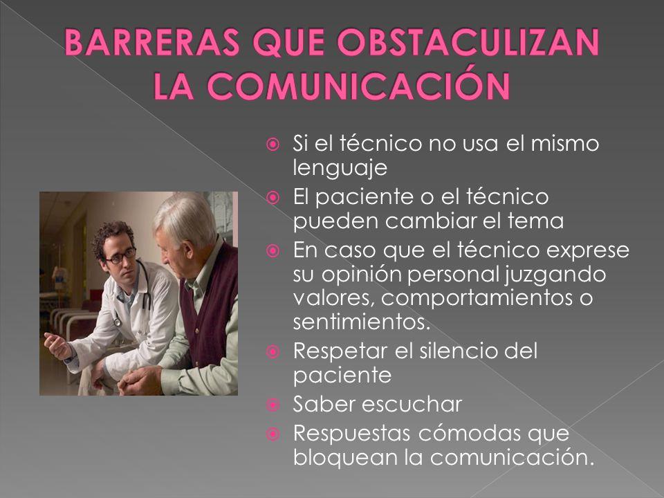BARRERAS QUE OBSTACULIZAN LA COMUNICACIÓN