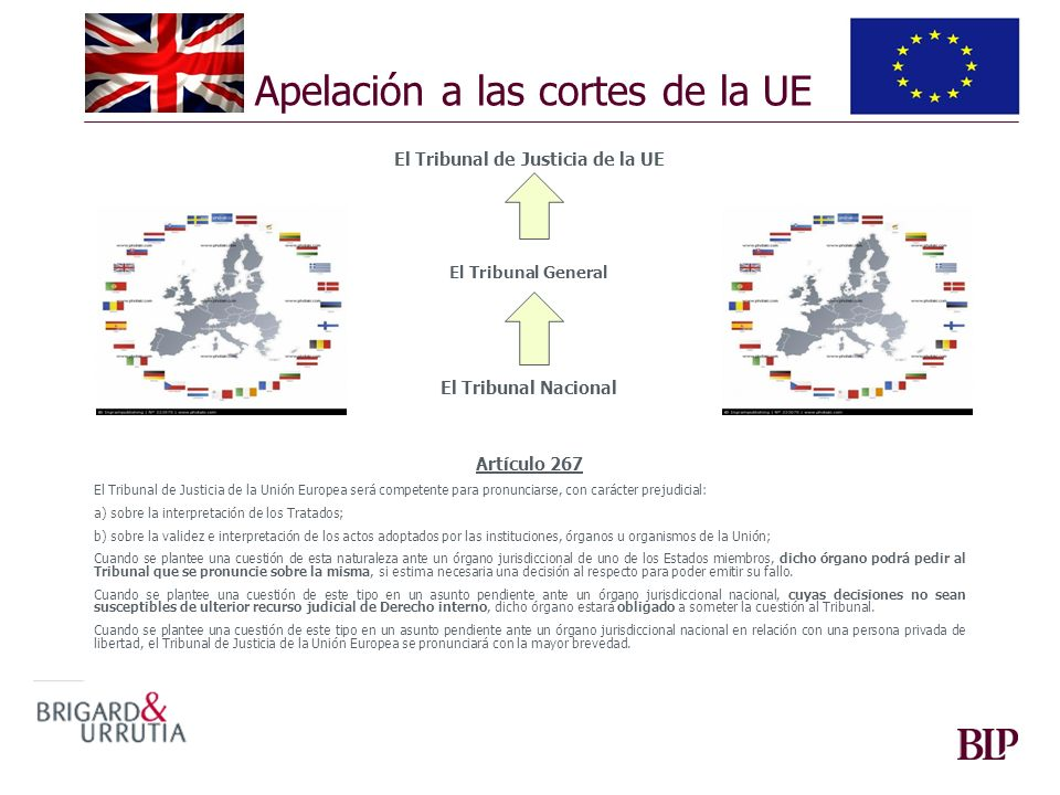 Apelación a las cortes de la UE