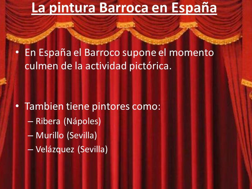 La pintura Barroca en España