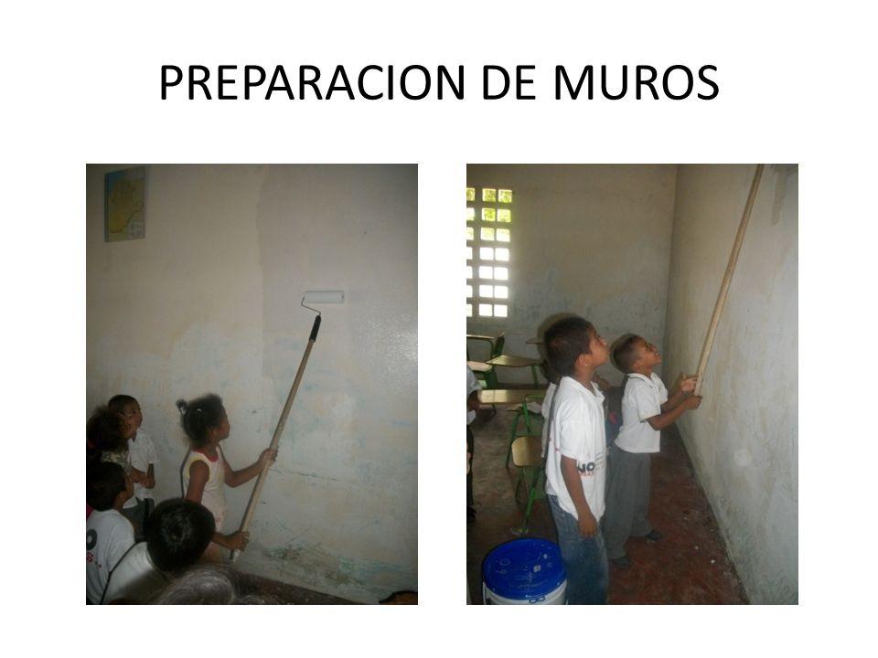 PREPARACION DE MUROS