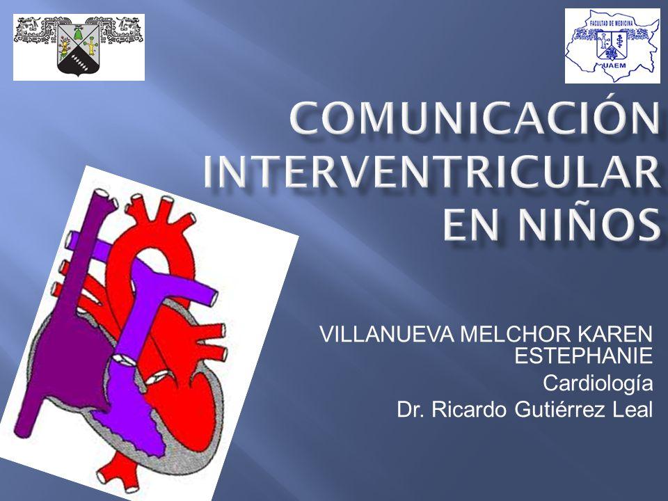 COMUNICACIÓN INTERVENTRICULAR EN NIÑOS