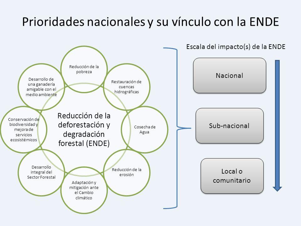 Prioridades nacionales y su vínculo con la ENDE