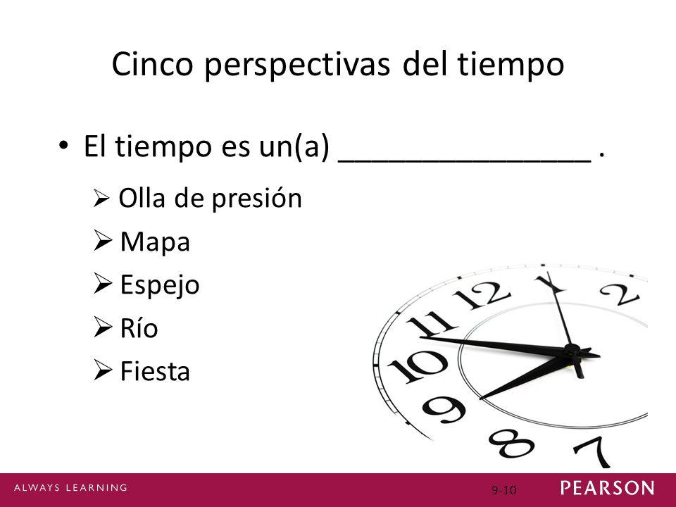 Cinco perspectivas del tiempo
