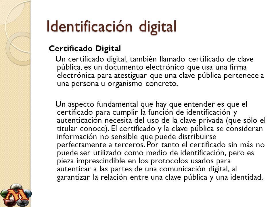 Identificación digital