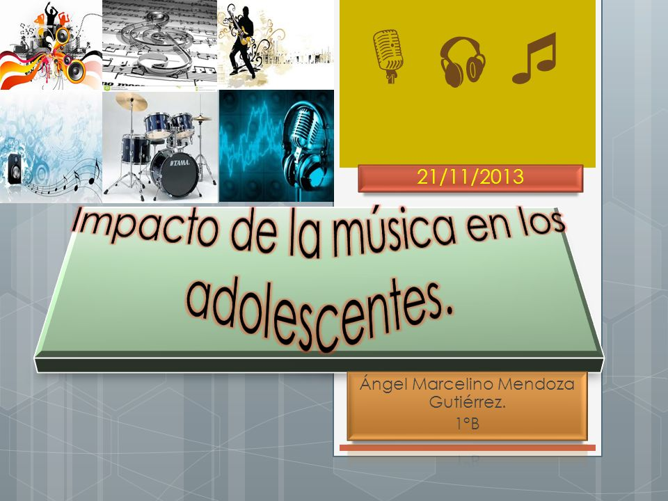Impacto de la música en los adolescentes.