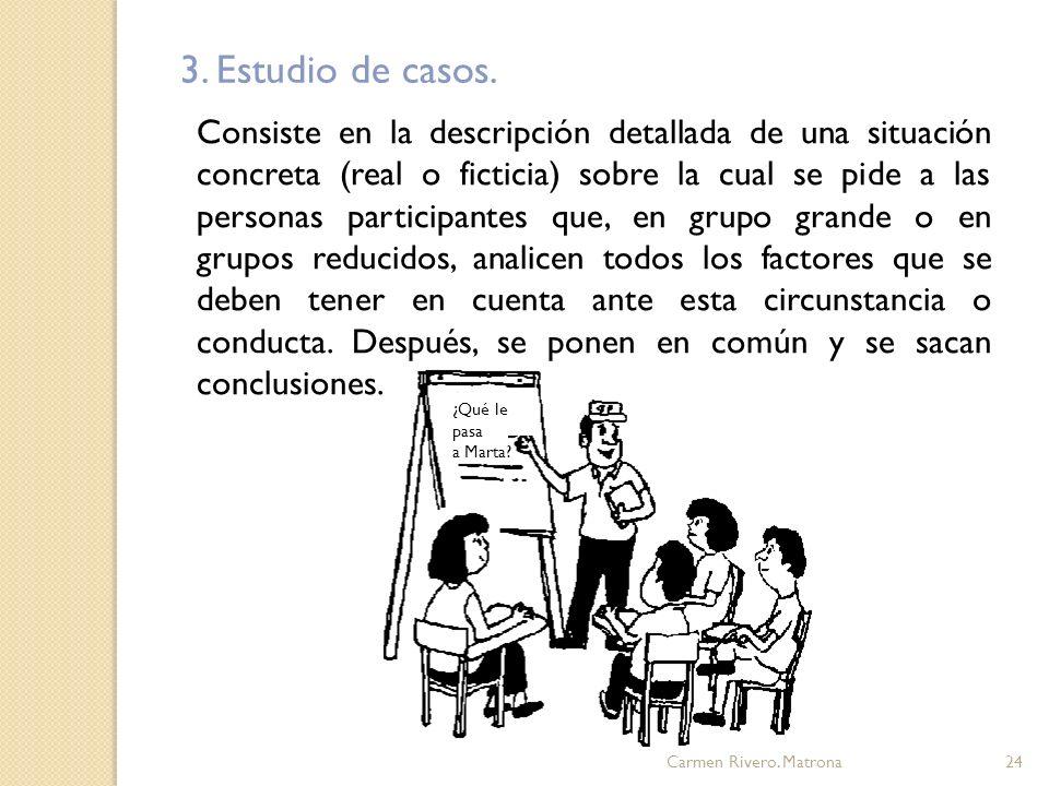 3. Estudio de casos.