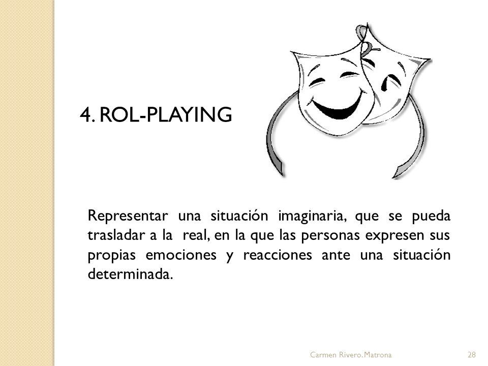 4. ROL-PLAYING