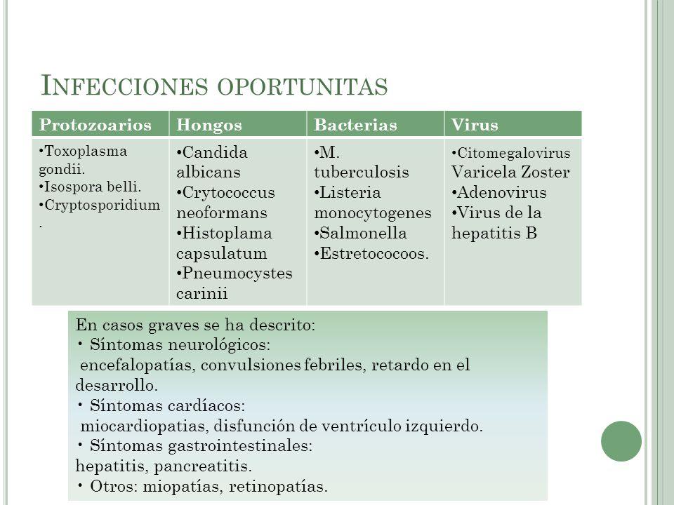 Infecciones oportunitas