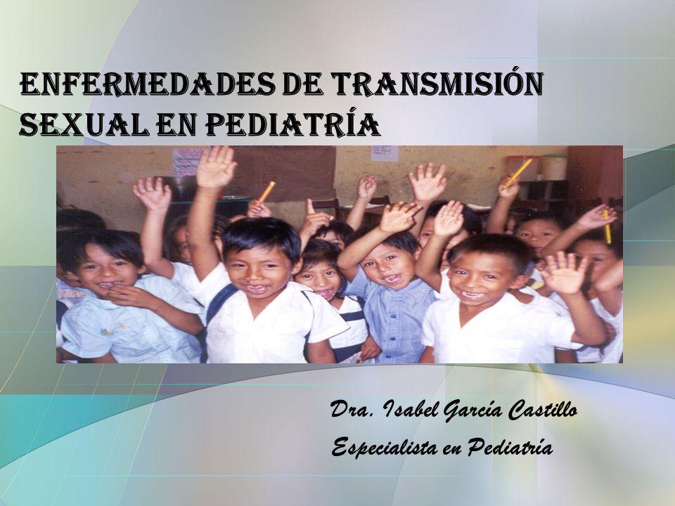 Enfermedades de Transmisión Sexual en Pediatría