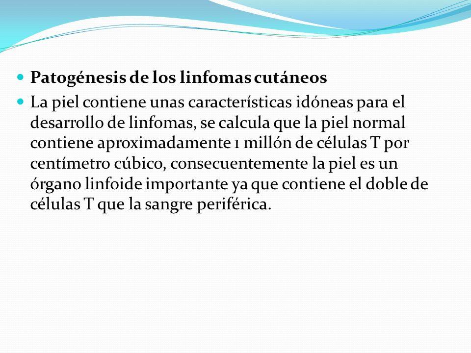 Patogénesis de los linfomas cutáneos