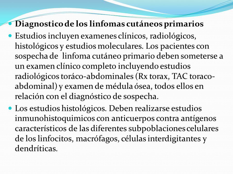 Diagnostico de los linfomas cutáneos primarios