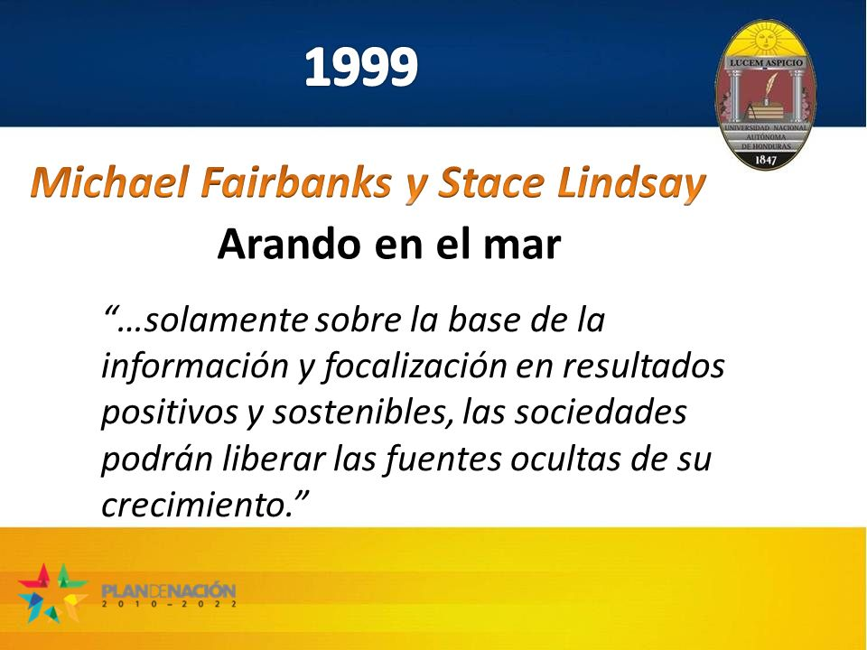 Michael Fairbanks y Stace Lindsay