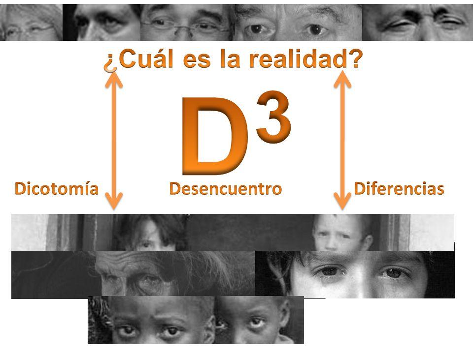 ¿Cuál es la realidad D3 Dicotomía Desencuentro Diferencias