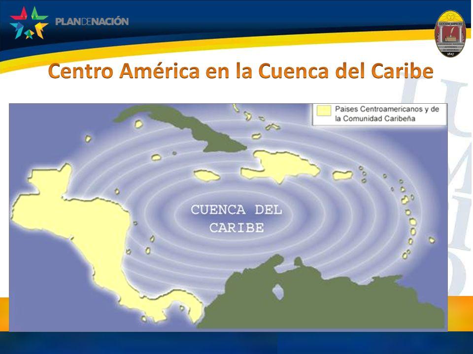 Centro América en la Cuenca del Caribe