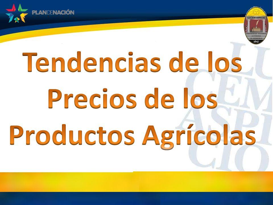 Tendencias de los Precios de los Productos Agrícolas