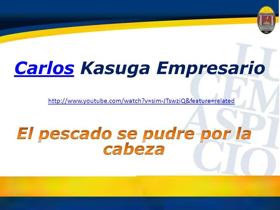 Carlos Kasuga Empresario