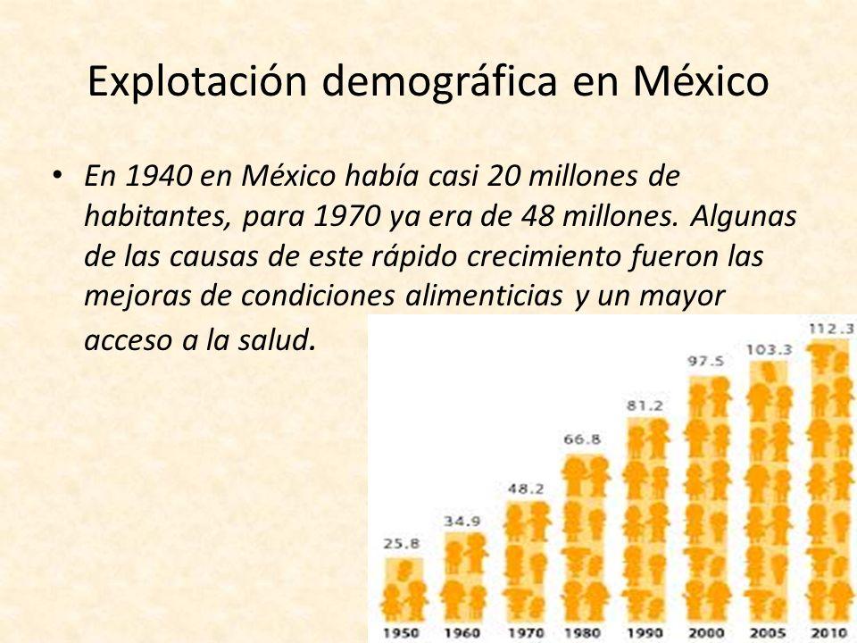 Explotación demográfica en México