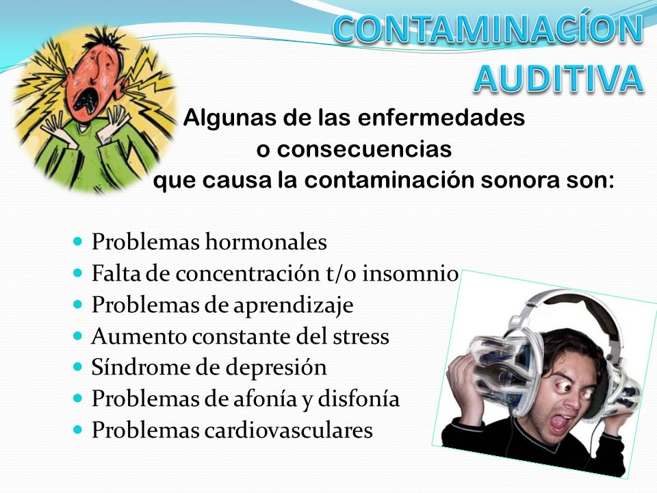 CONTAMINACÍON AUDITIVA