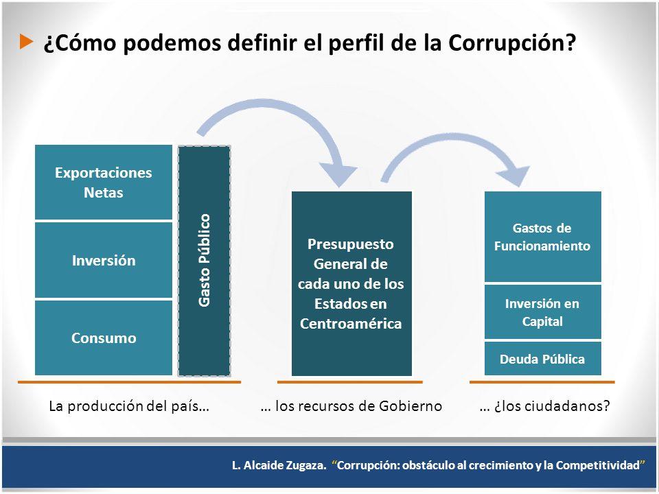  ¿Cómo podemos definir el perfil de la Corrupción