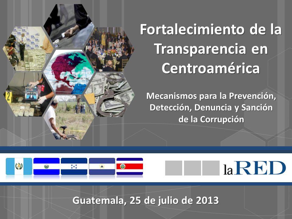 Fortalecimiento de la Transparencia en Centroamérica